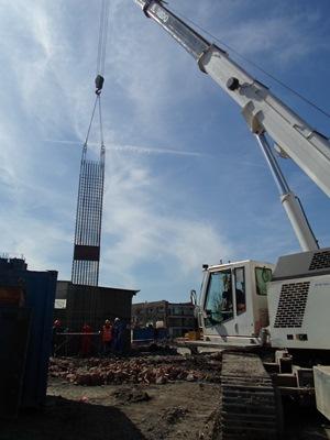 Завершены работы устройства «стены в грунте» на Лиговском, 271