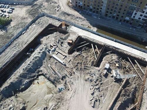 Геотехническая система Geoizol-MP на объектах городской застройки