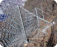 Rockfall protection barriers
