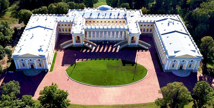 Александровский дворец реконструкция
