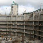 ТРК «Атмосфера» Санкт‑Петербург, Комендантская пл., 1. Ограждающие конструкции подземной части здания