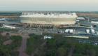 Общий вид стадиона с высоты птичьего полета